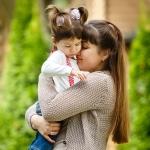 фотография девочки и мамы