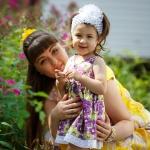 фото малышки и мамы