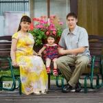 фотоснимок семьи