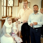 фотосъемка семьи перед крещением