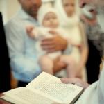 фотосъемка крещения молитвенник