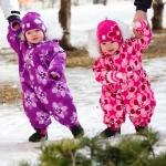 детская фотография девочки близнецы