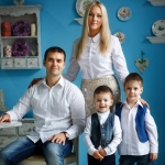 семейная фотосессия Ярик Рома и Ко