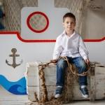 мальчик и корабль