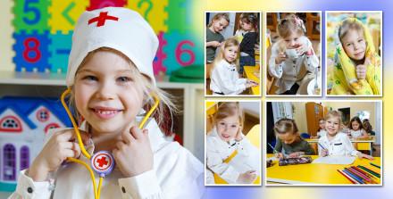 Альбом фотографа в детский сад