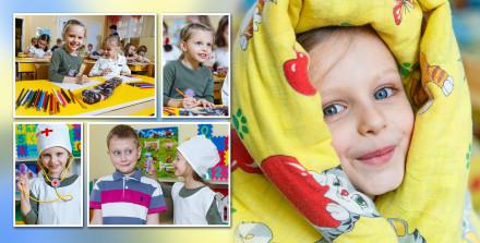 Фотокнига один день в детском саду