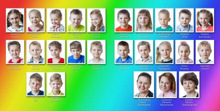 Коллаж с портретами