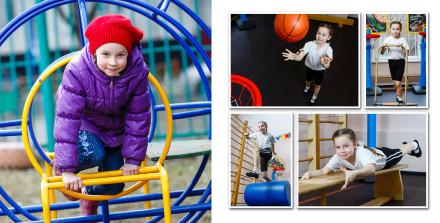 Спорт и прогулка в детском саду