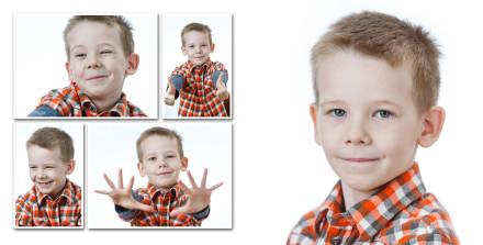 Портреты мальчика