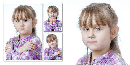 Портреты милой девочки