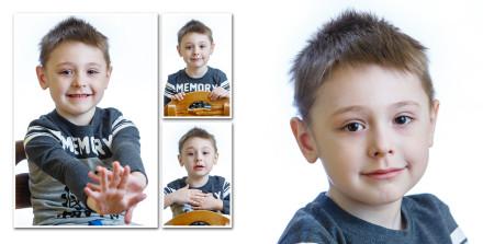 Портреты для альбома мальчика-выпускника