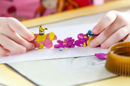 фотосъемка занятий лепкой в детском саду