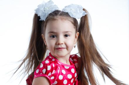 портретная фотосъемка девочки